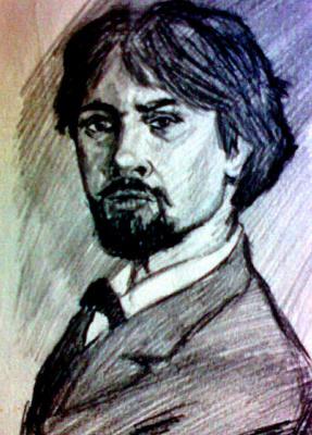 Jurgen Beuttcher. Автопортрет художника В.И.Сурикова (копия)