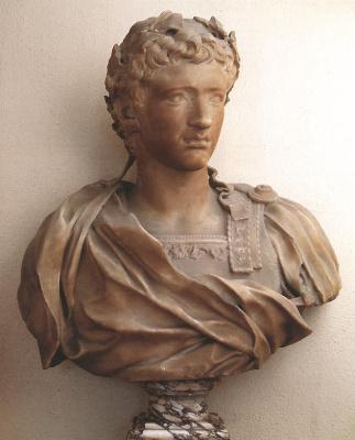 Пьер Пьюджет. Бюст молодого Августин