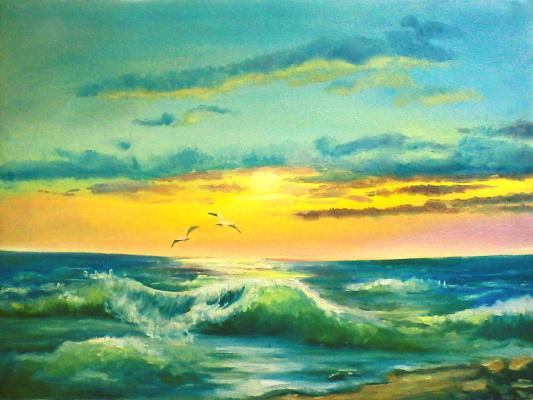 Olga Suncheleeva. Wave