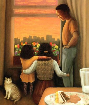 Кэтрин Хьюитт. Семья у окна