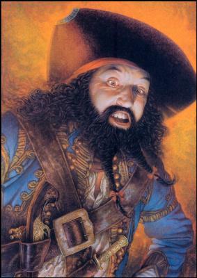 Дуглас Клауба. Пират призрак