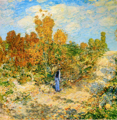Childe Hassam. Road, New England