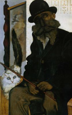 Янкель Адлер. Дрессировщик кошек
