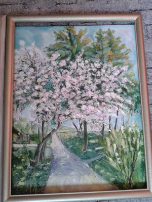 Тамара Лагунова. Майская яблоня