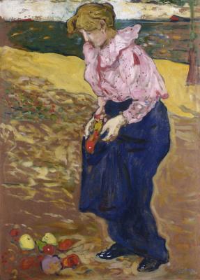 Луи Вальта. Мадам Вальта. 1898
