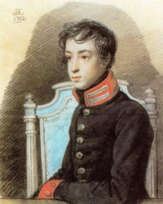 Orest Adamovich Kiprensky. Portrait of Alexander Bakunin