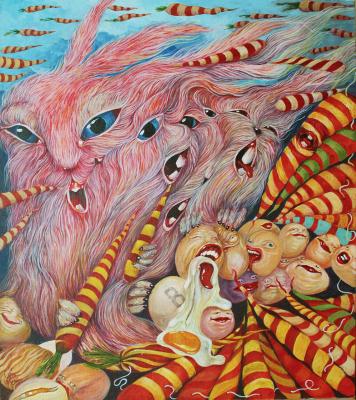 Sergei Kozin. Song of Easter rabbits
