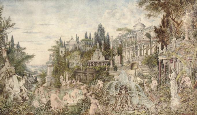 Вильгельм Александрович Котарбинский. Очарованный сад