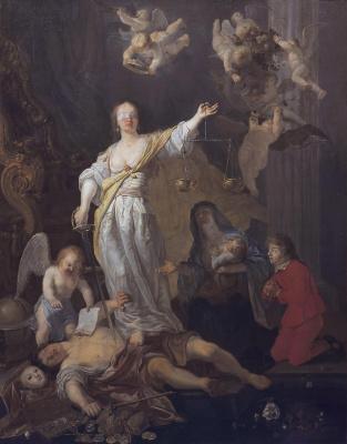 Gabrielle Metsu. The Triumph Of Justice