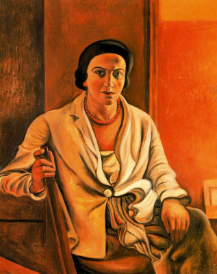 Andre Derain. Portrait Of Alice Derain