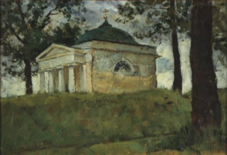 Aleksandr Chagadaev. Tuchkov Chapel on Borodino Field