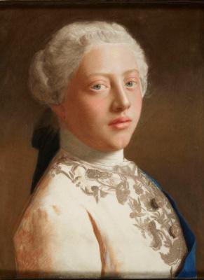 Jean-Etienne Lyotard. Portrait of George, Prince of Wales (later George III)