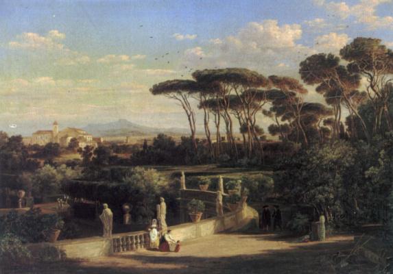 Фридрих Майер. Вид Рима