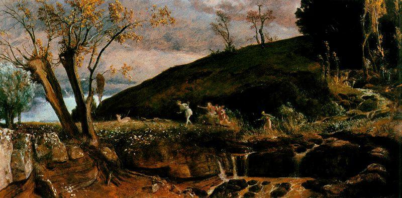 Arnold Böcklin. Nature