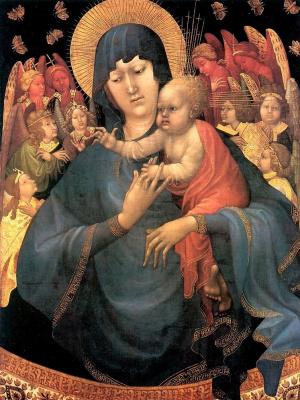 Жан Малоуел. Богородица