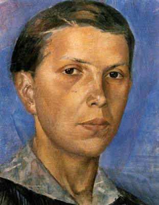 Kuzma Sergeevich Petrov-Vodkin. Portrait Of N. L.