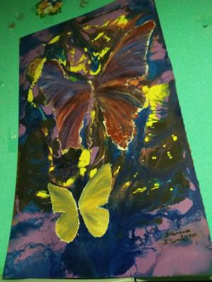 Вася Чистов. Бабочки