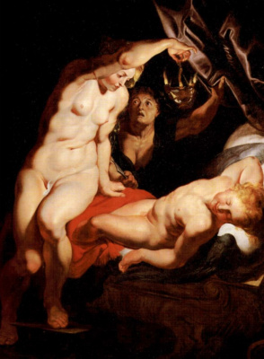 Peter Paul Rubens. Cupid and Psyche