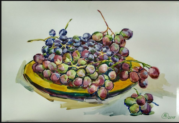 Lilia Georgievna Evsyukova. Grape day!