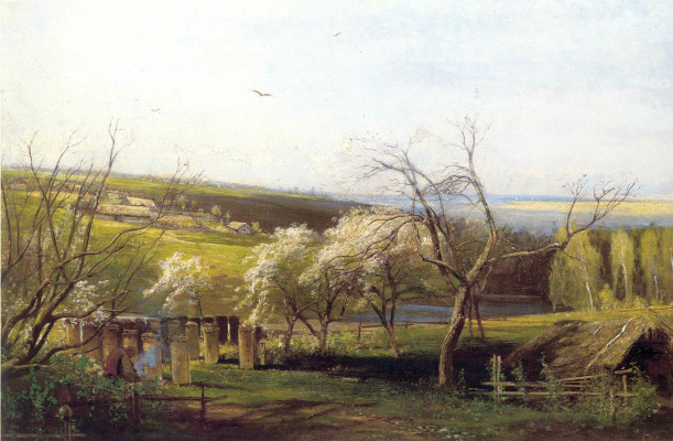 Алексей Кондратьевич Саврасов. Сельский вид