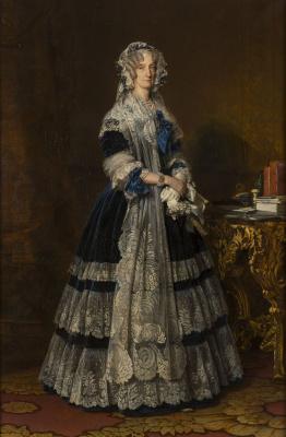 Франц Ксавер Винтерхальтер. Мария-Амалия де Бурбон, королева Франции