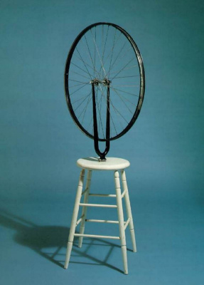 Marcel Duchamp. Bicycle wheel