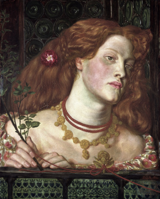 Lovely Rosamund (Portrait Of Fanny Carnforth)