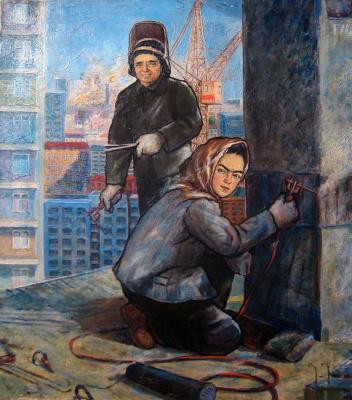 Андрей Владимирович Хан. Строители