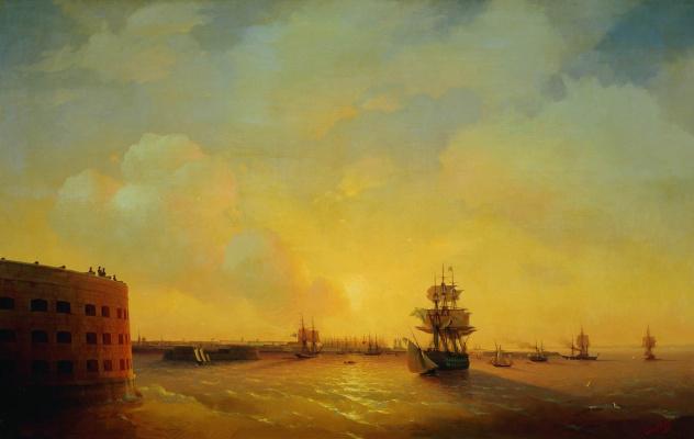 """Kronstadt. Fort """"Emperor Alexander I"""""""