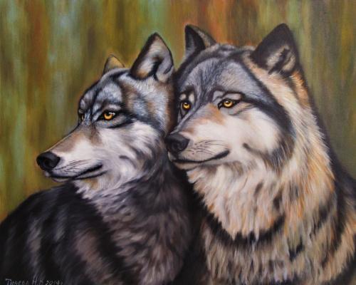Natalia Viktorovna Tyuneva. Wolves