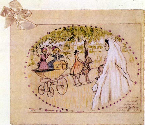 Marcel Duchamp. Wedding