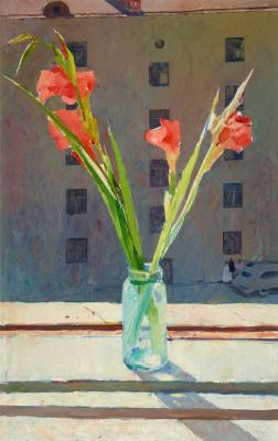 Tair Teymurovich Salakhov. Gladiolus