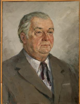 Николай Петрович Карякин. Портрет художника Симонова