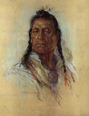 Николас де Гранмезон. Индейский портрет 58