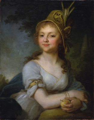 Vladimir Lukich Borovikovsky. Portrait Of Ekaterina Nikolaevna Arsenyeva