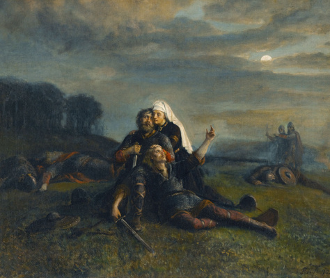"""Peter Nikolay Arbo. """"After the Battle"""""""