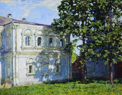 Apollinarius Mikhailovich Vasnetsov. The house of the former Archaeological society
