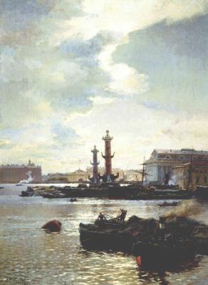 Александр Карлович Беггров. Петербургская биржа