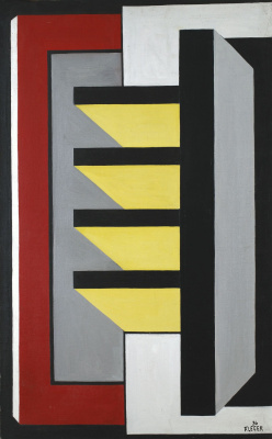 Fernand Leger. Wall painting