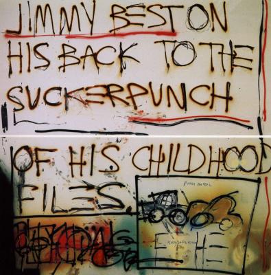 Jean-Michel Basquiat. Jimmy best...