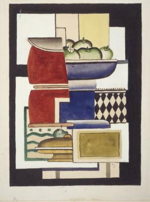 Fernand Leger. Fruit plate
