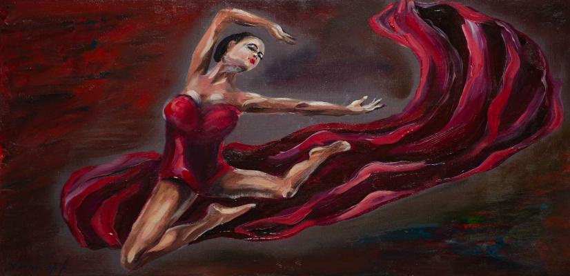 "Alla Struchayeva. Painting ""Dream"""