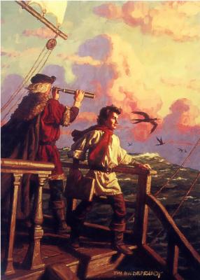 Тим Хильдебрандт. Журнал Педро