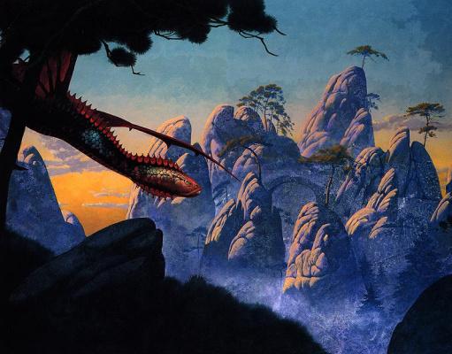 Roger Dean. Hunt the dragon