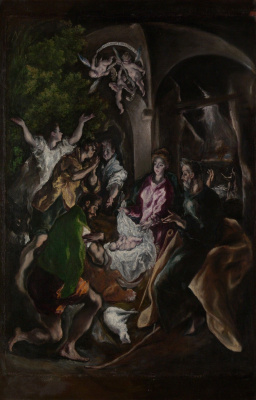 Domenico Theotokopoulos (El Greco). The adoration of the shepherds