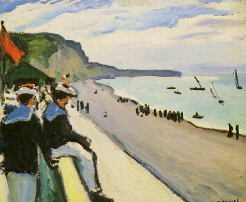 Albert Marquet. Fecamp Beach