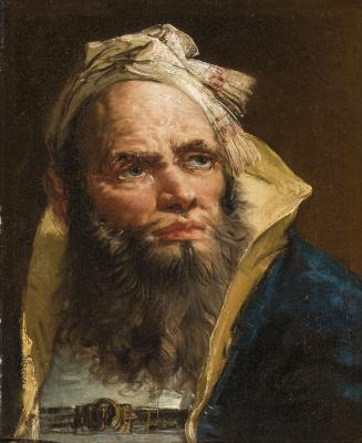 Giovanni Battista Tiepolo. Philosopher. Portrait of a Oriental Man