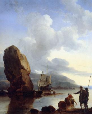 Людольф Бакхёйзен. Корабль в чужой бухте