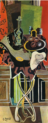 Georges Braque. Red table