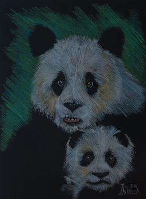 Larissa Lukaneva. Panda